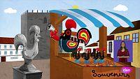 Lunnis de leyenda - El gallo de Barcelos
