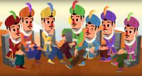 Lunnis de Leyenda - El tesoro de las 7 sillas