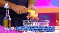 Truco - Cómo evitar que la patata se oscurezca