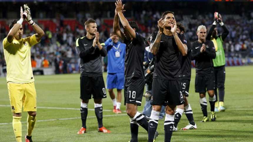La Real pone pie y medio en la fase de grupos de la Champions