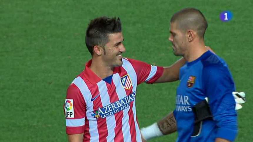 Fútbol - Supercopa de España 2013 - Partido de ida: At. Madrid - Barcelona