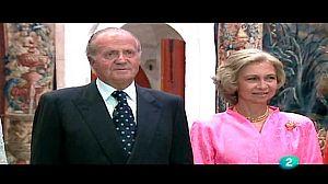 La familia real en Baleares