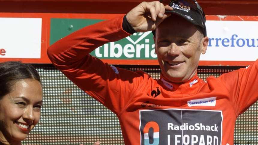 Chris Horner, líder de la Vuelta a los 41 años