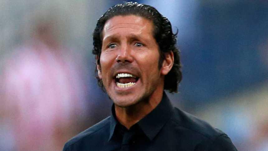Simeone repetirá ante el Barcelona el mismo once