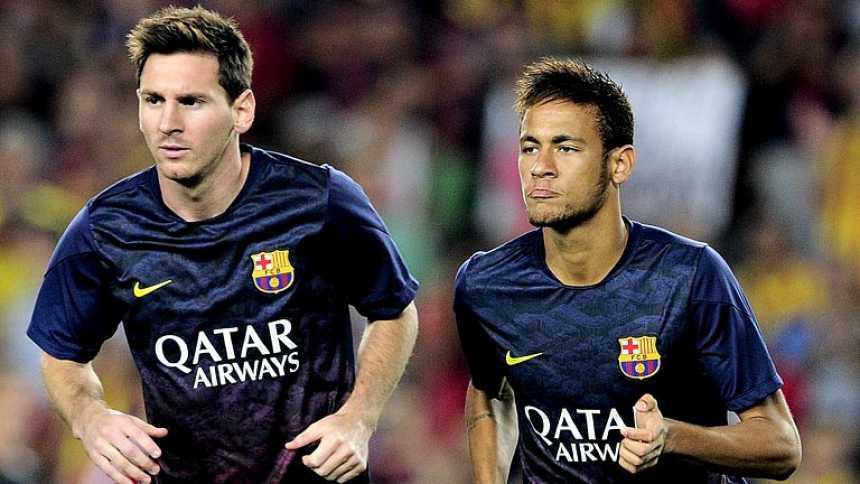 Messi y Neymar apenas conectaron en su primer partido juntos desde el inicio