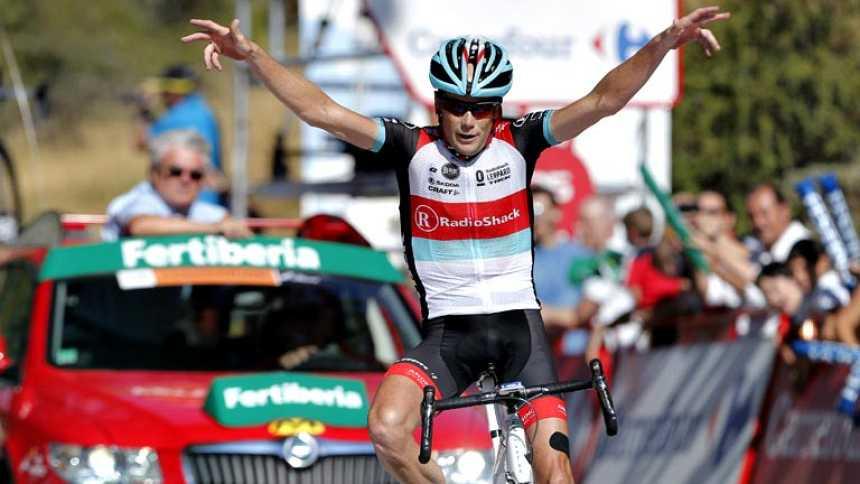 Horner gana en el Alto de Hazallanas y es líder de la Vuelta