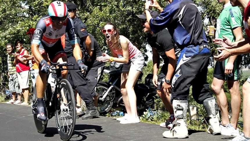 Cancellara se impone en la contrarreloj de Tarazona