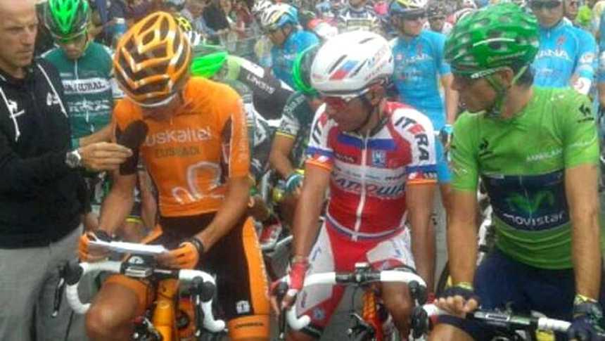 El pelotón de la Vuelta exige el 'metro y medio' para los ciclistas