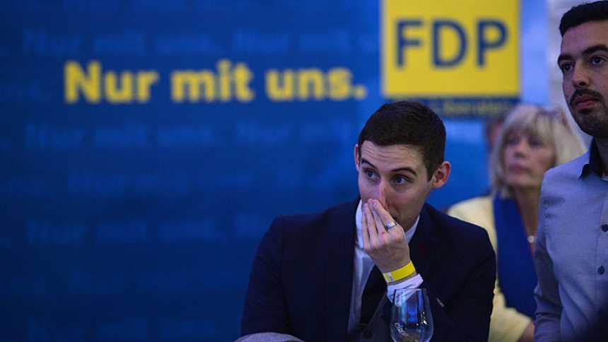 El FDP quedaría fuera del Parlamento alemán según los primeros sondeos