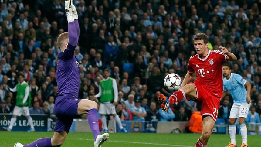 El Bayern da un golpe de autoridad en casa del Manchester City