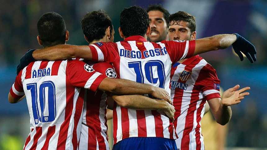 El Atlético roza su pase a octavos tras ganar en Viena