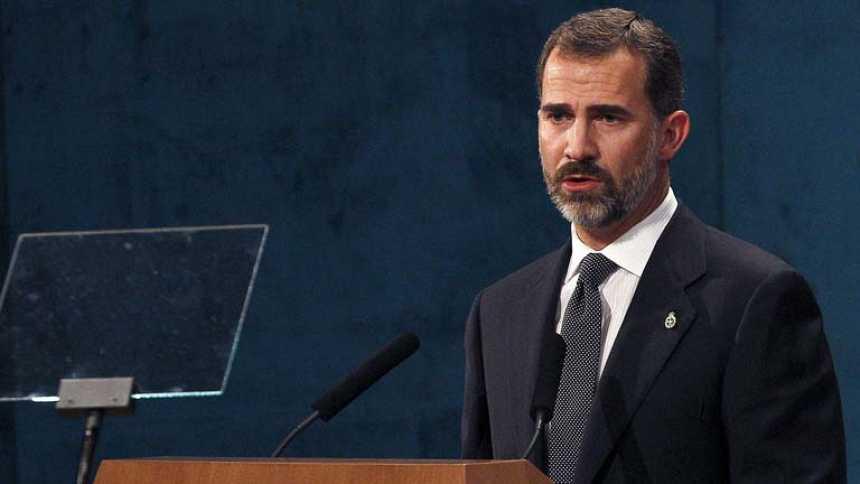Discurso íntegro de Don Felipe en los Premios Príncipe de Asturias 2013