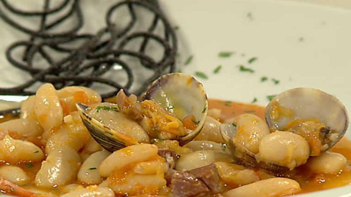 Www Rtve Cocina Con Sergio | Cocina Con Sergio Fabes Con Almejas Rtve Es