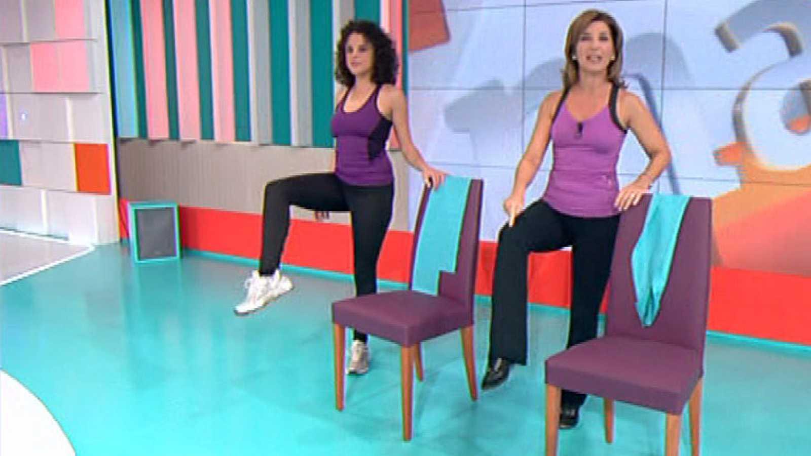 La mañana - En forma  Ejercicios para relajar la espalda - RTVE.es 6c83a4ab6b1a