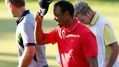 Otro golpe imposible de Tiger Woods