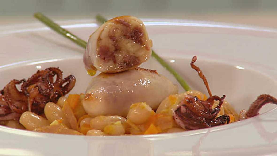 Www Rtve Cocina Con Sergio | Cocina Con Sergio Chipirones Con Alubias Rtve Es