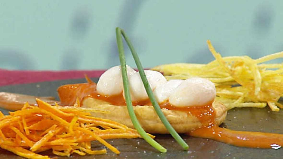 Cocina con sergio huevos de codorniz escalfados en mojo - Cocina con sergio pepa ...