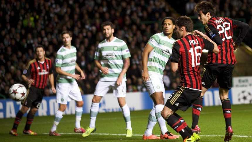 El Milan asalta el Celtic Park de Glasgow