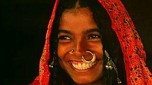 Tres muchachas de la India
