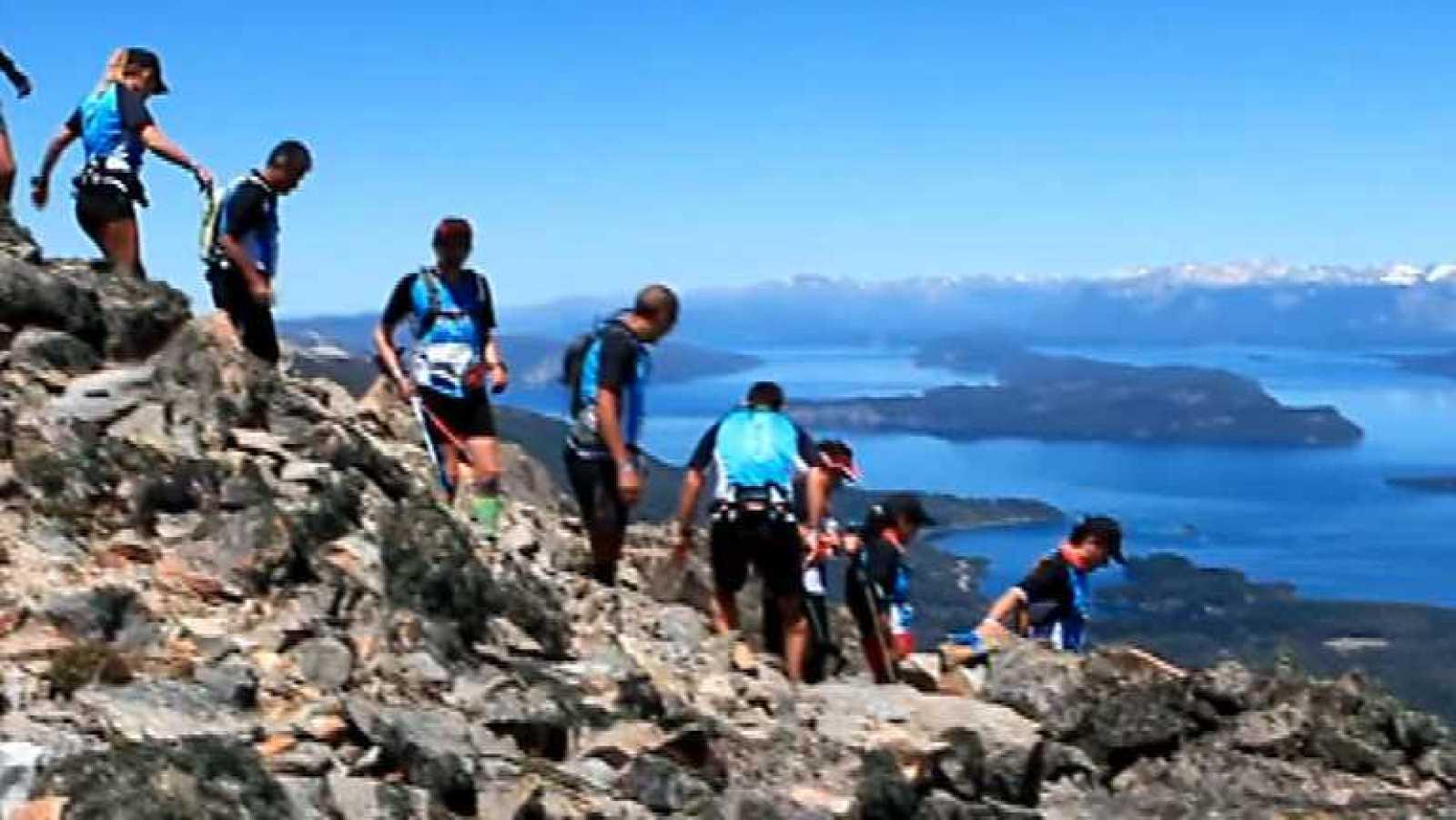 Carrera de montaña - Final K42 Patagonia