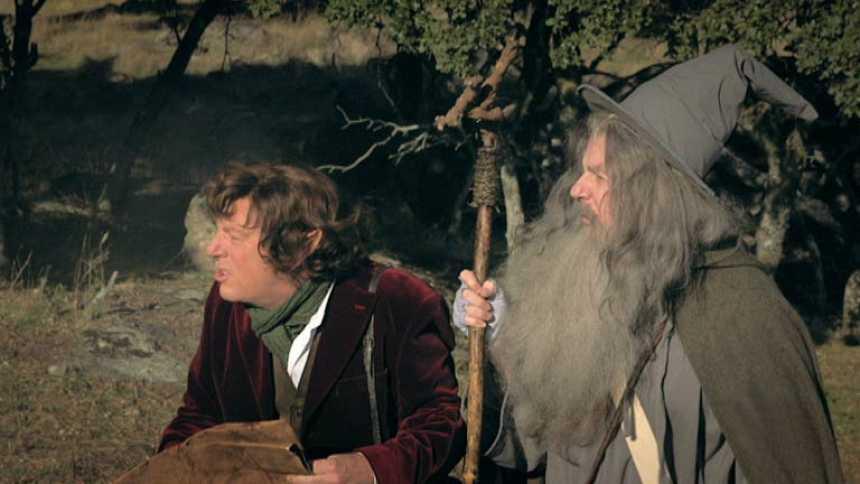 Especial Nochevieja con Los Morancos - Frodo y Gandalf se unen al camino rociero