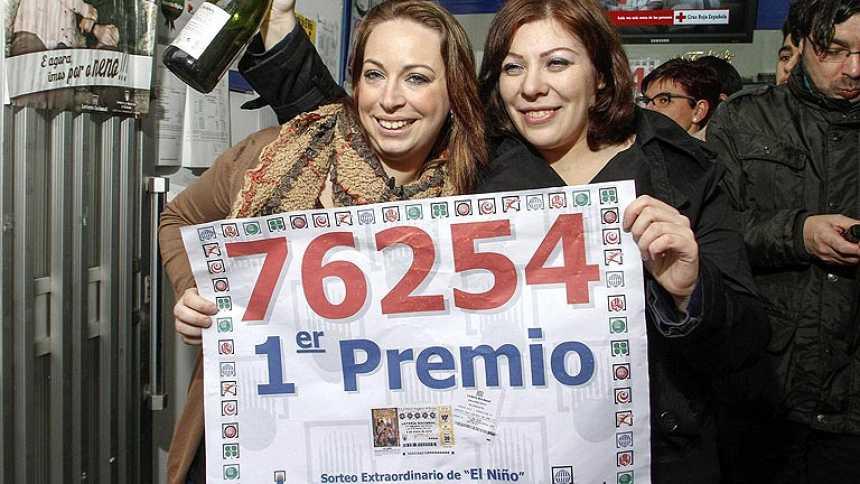 76.254, el primer premio de la Lotería del Niño, se va íntegro a Monforte de Lemos (Lugo)