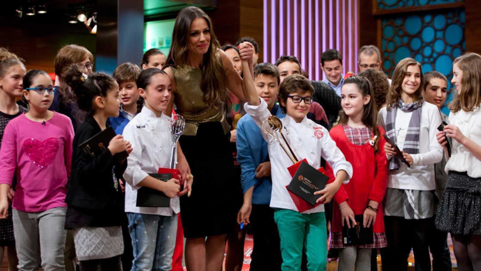 Mario se convierte el primer MasterChef Junior España