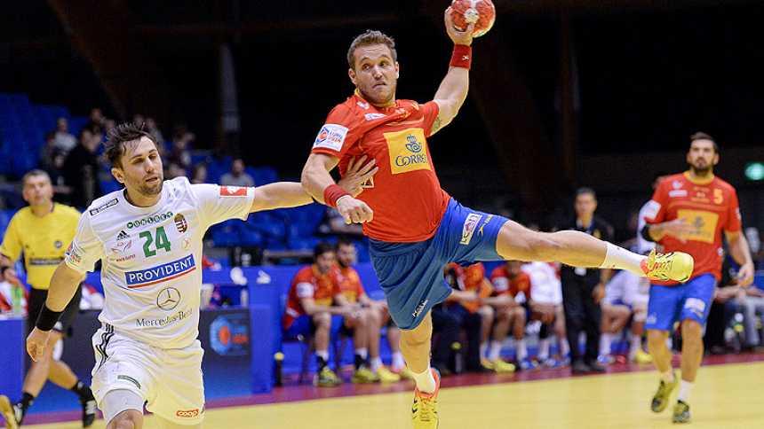 España comienza con buen pie el Europeo de balonmano