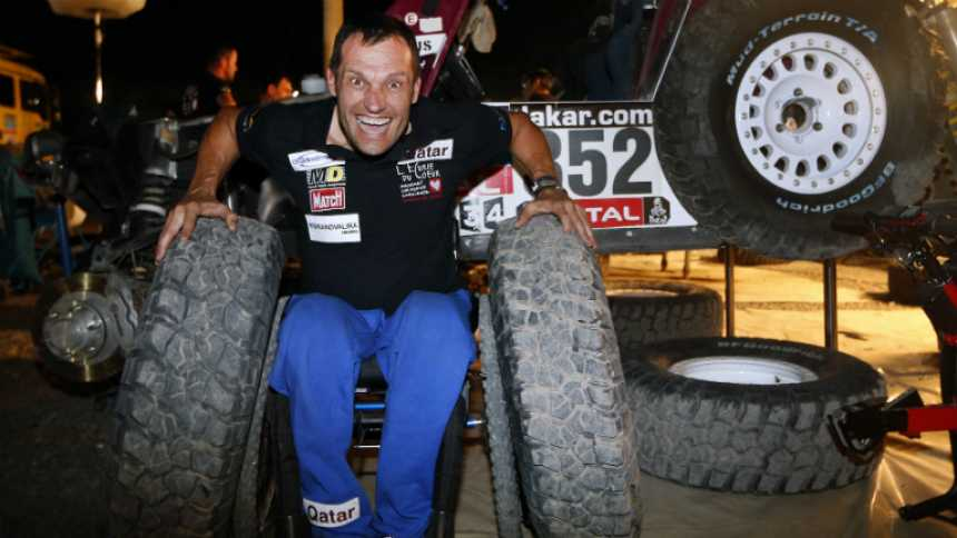 Dakar 2014 - Albert Llovera y Carlos Sainz, dos caras en el Dakar
