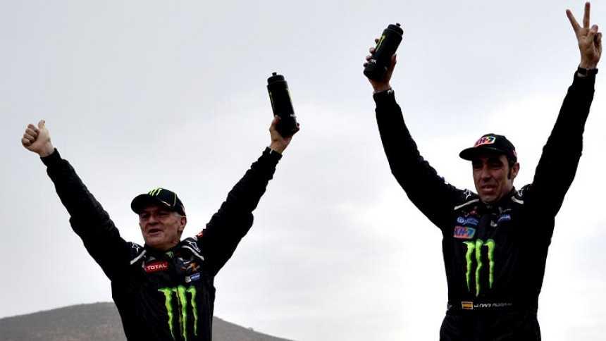 Nani Roma y Marc Coma hacen historia al conseguir el doblete español en el Dakar