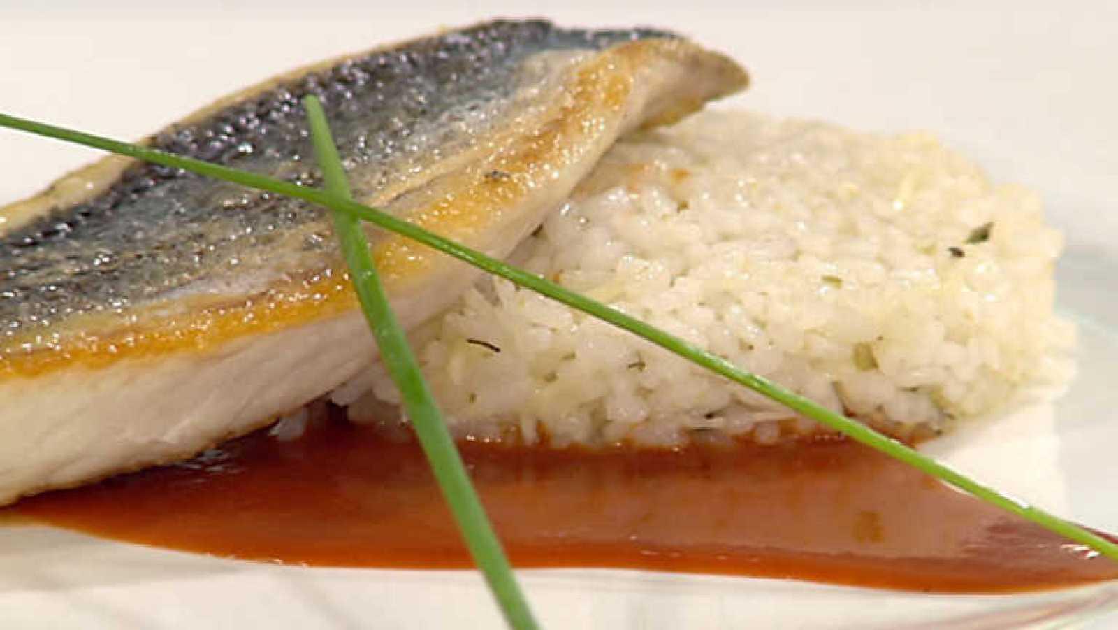 Cocina Con Sergio Dorada A La Plancha Con Salsa De ñoras