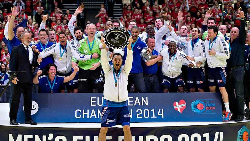 Francia, campeona de Europa de balonmano