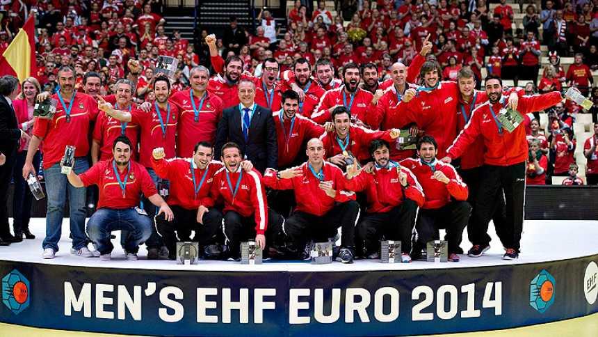 España, bronce europea de balonmano