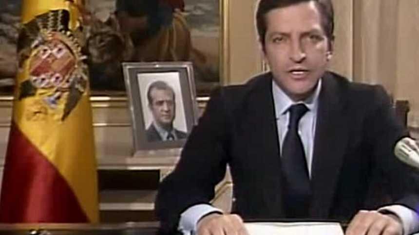 Discurso de dimisión de Adolfo Suárez