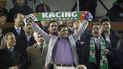 Desde la llegada de Ali Syed al Racing, el equipo cántabro entró en una espiral de problemas económicos y deportivos que le ha llevado hasta la negativa a jugar el partido de vuelta contra la Real Sociedad en cuartos de final de la Copa del Rey.