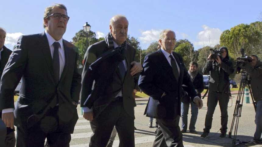 El mundo del fútbol llora la pérdida de Luis Aragonés