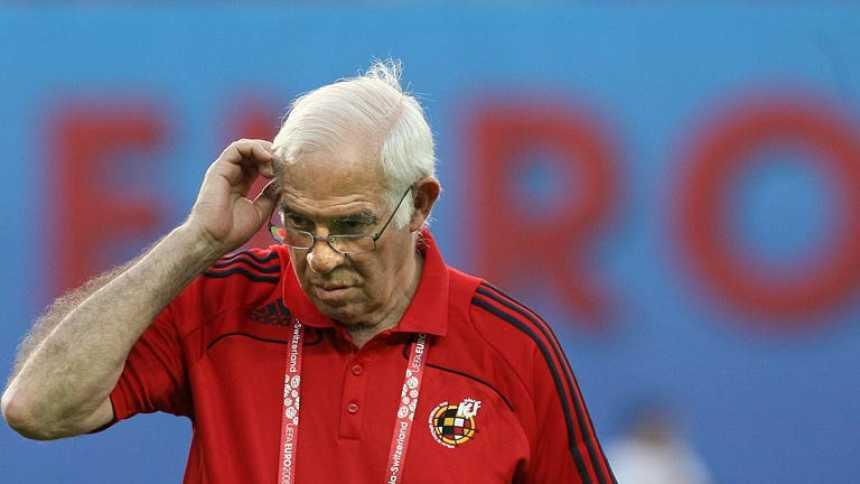 Luis Aragonés cambió el rumbo de la Roja