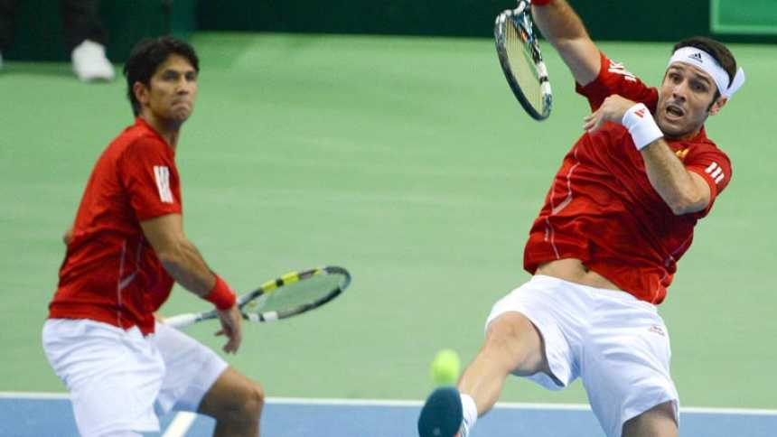 Alemania gana el dobles a España, que se jugará la permanencia