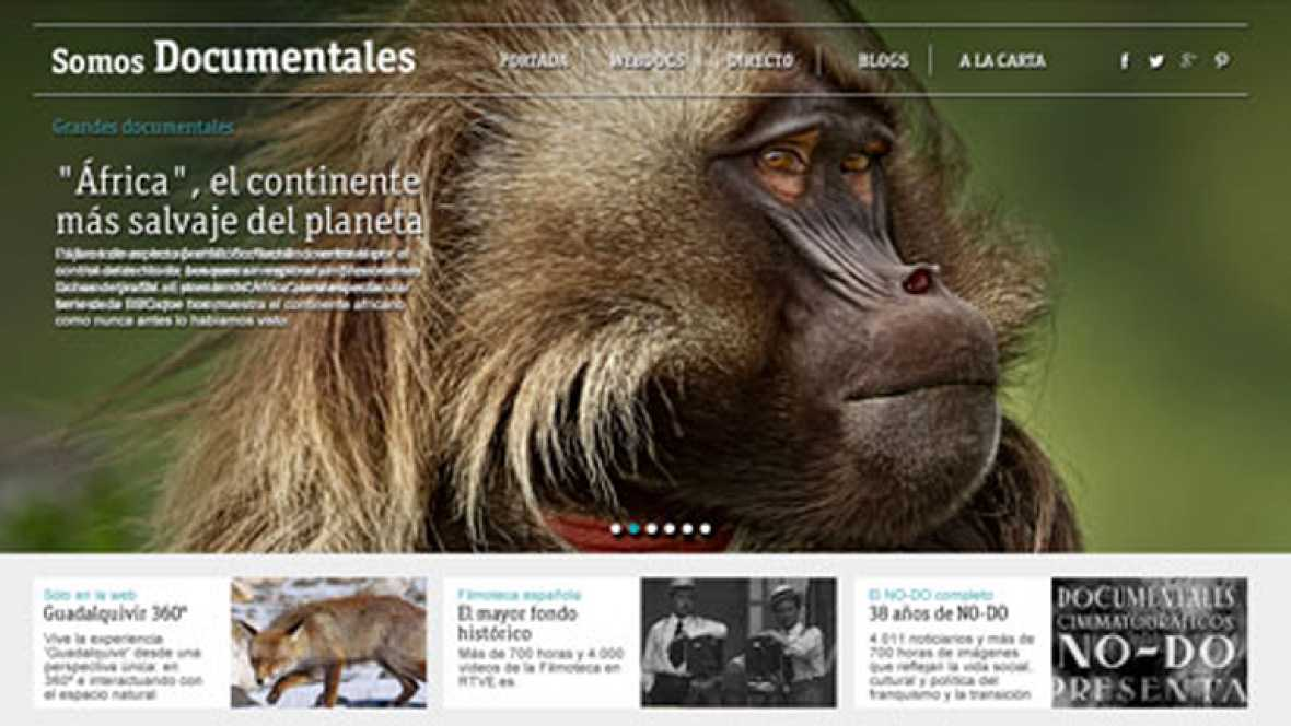 """Somos documentales"", cinco mil documentales accesibles para todos en la web RTVE.es"