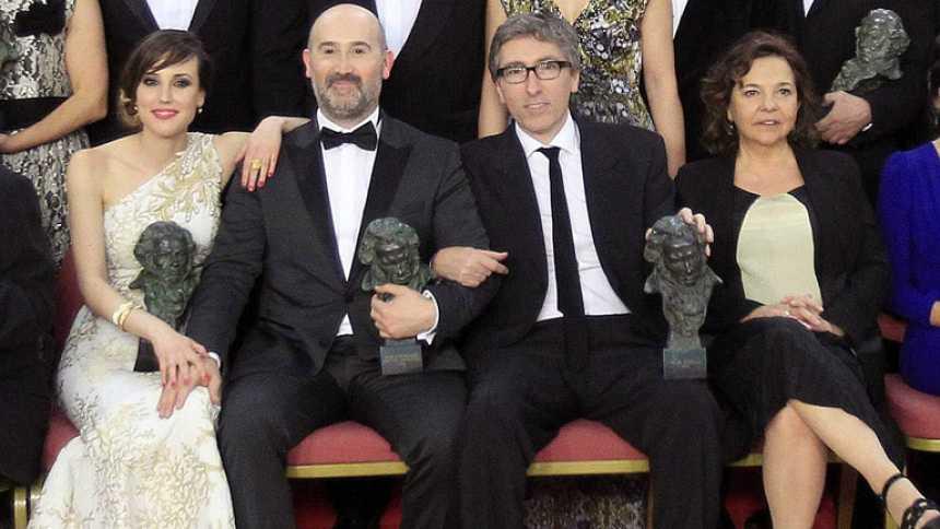 'Vivir es fácil con los ojos cerrados' de David Trueba triunfa en los Goya 2014 con seis premios