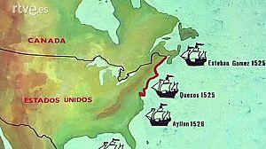 Españoles en la costa atlántica