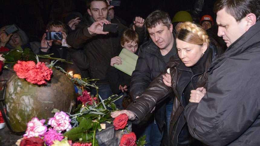 El Parlamento ucraniano vota la destitución de Yanukóvich y fija nuevas elecciones en mayo