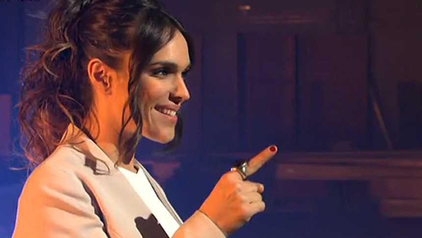 ¡Mira quién va a Eurovisión! - La Dama, dispuesta a tirarse en paracaídas