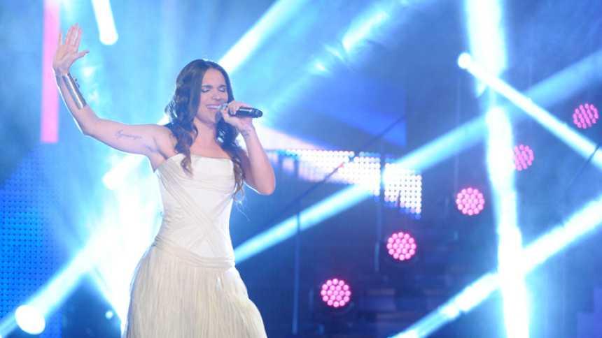 """Mira quién va a Eurovisión 2014 - La Dama canta """"Estrella fugaz"""""""