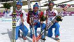 Triplete ruso en los 50 kilómetros de esquí de fondo