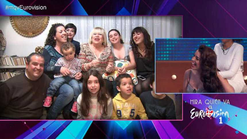 Eurovisión 2014 - Una sorpresa para Ruth Lorenzo
