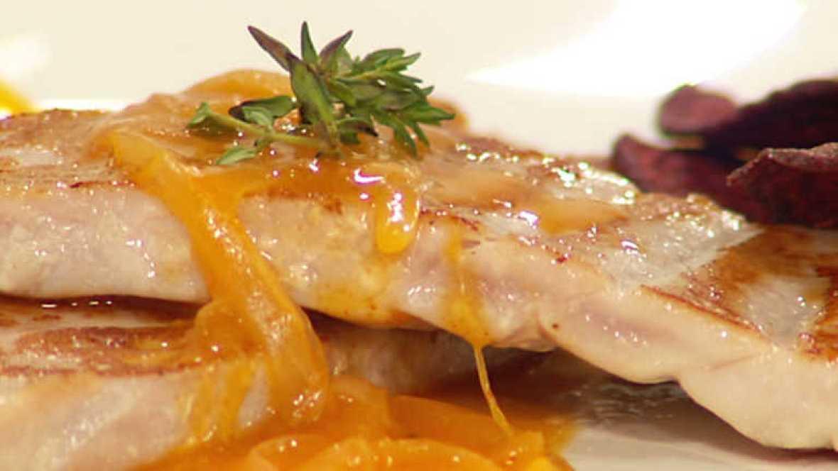 Www Rtve Cocina Con Sergio Es | Cocina Con Sergio Atun Con Salsa Picante Rtve Es