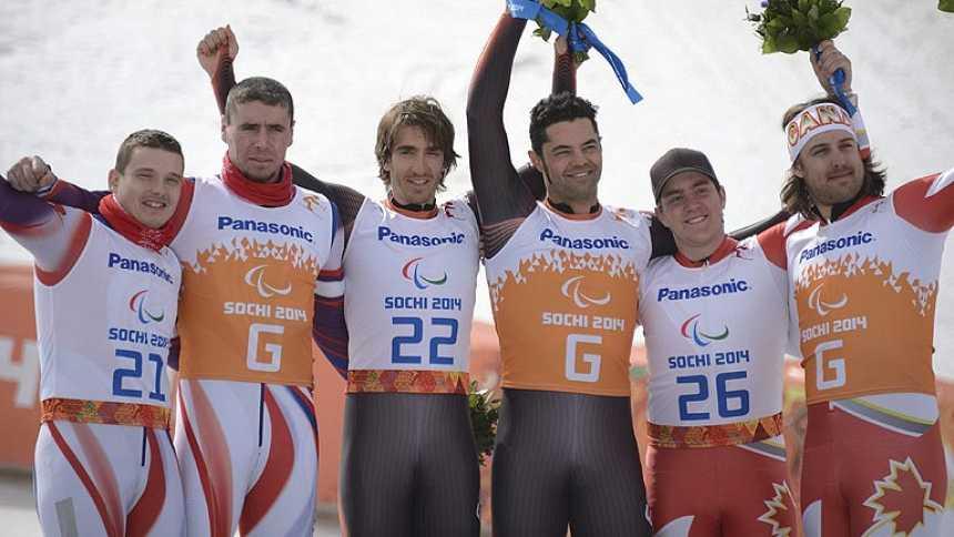 Santacana revalida el oro en la prueba de descenso en Sochi