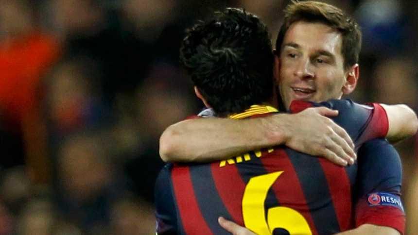 Messi e Iniesta llevan al Barça a cuartos de la Champions