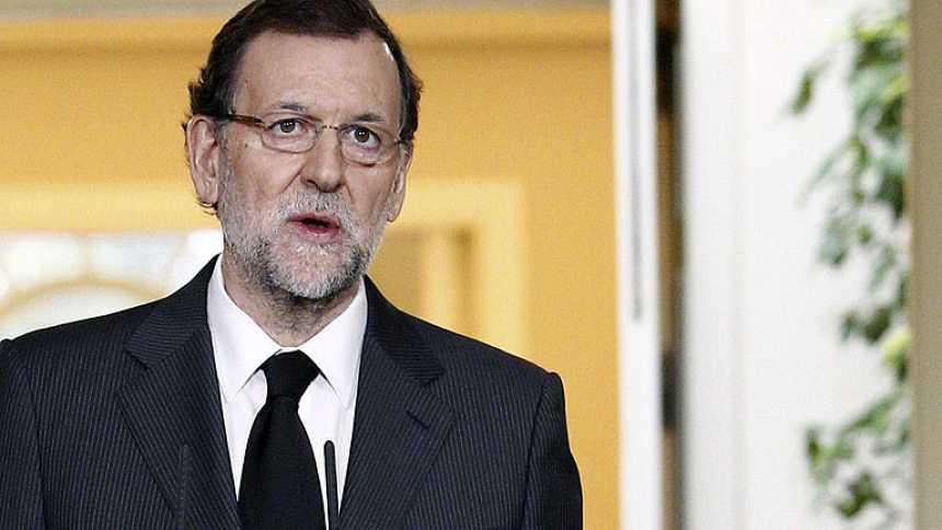 """Rajoy lamenta la muerte de Adolfo Suárez: """"Vivimos un día de tristeza para los españoles"""""""